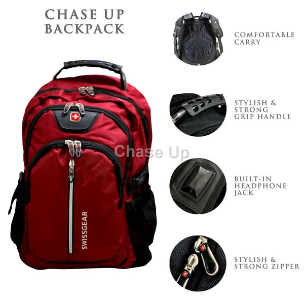 Gents Backpack 8615 TI-005 Imp (Red)
